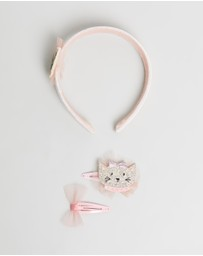 Billy Loves Audrey - Well Dressed Cat Clip & Headband Set