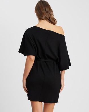 Tussah - Camina Knit Dress - Dresses (Black) Camina Knit Dress