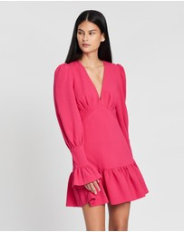BY JOHNNY. - Anna V Tulip Sleeve Mini Dress