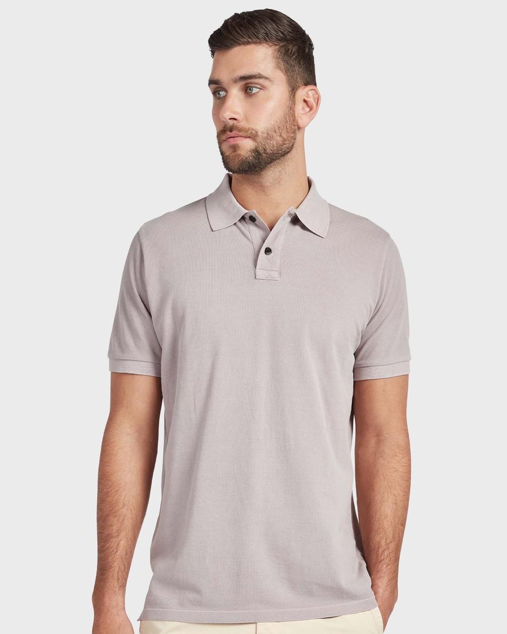 Academy Brand Polo Shirts & Polos Neutrals