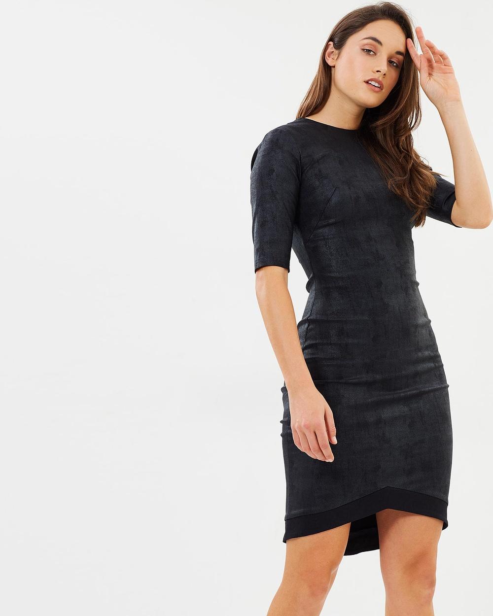 LJ CHAPLIN Valentina Dress Dresses Black Valentina Dress