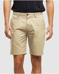 Wayver - Cotton Chino Shorts