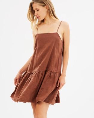Marle – Fox Dress Cocoa