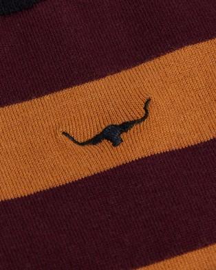 R.M.Williams Nelson Socks - Socks & Tights (Orange & Burgundy)