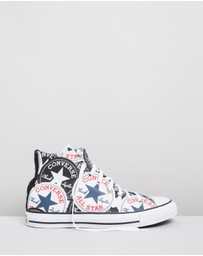 Converse - Chuck Taylor All Star Logo Graphic Hi-Top Sneakers - Unisex