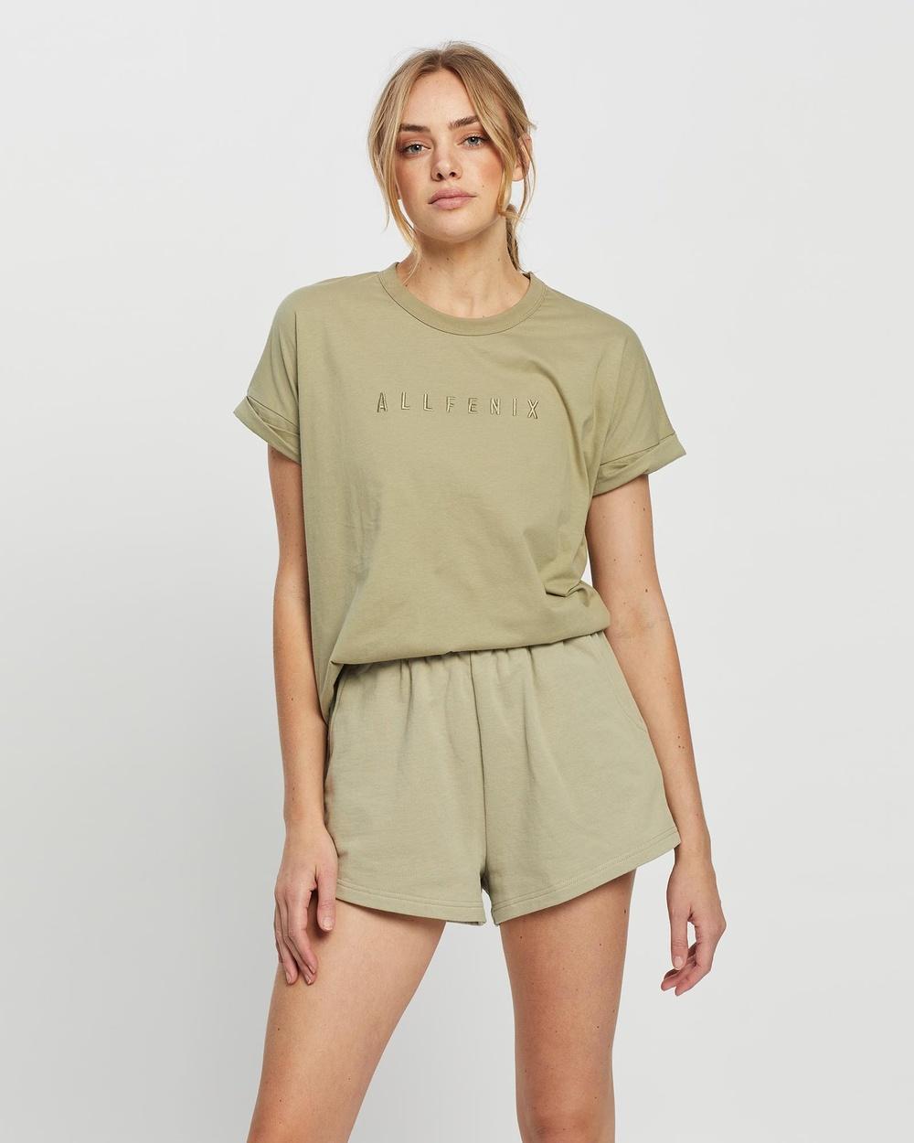 All Fenix Mica Tee T-Shirts & Singlets Olive