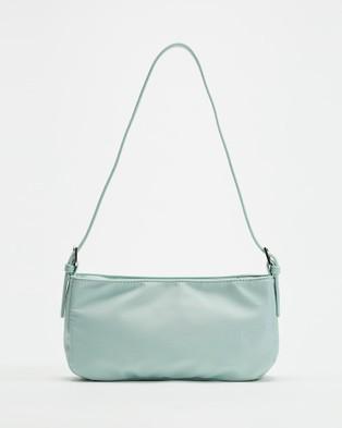 PETA AND JAIN Patience Shoulder Bag - Clutches (Mint Nylon)