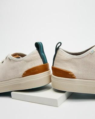 TOMS TRVL Lite Low   Men's - Sneakers (Birch Canvas)
