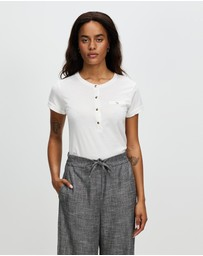 Marcs - Evie Mercerised Cotton Tee