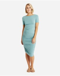 Bamboo Body - Jasper Ruched Dress