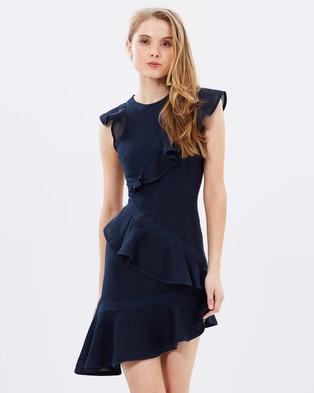 Keepsake the Label – Flashing Lights Mini Dress Navy