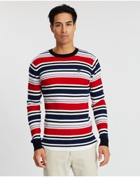 Scotch & Soda - Long Sleeve Waffle Jumper