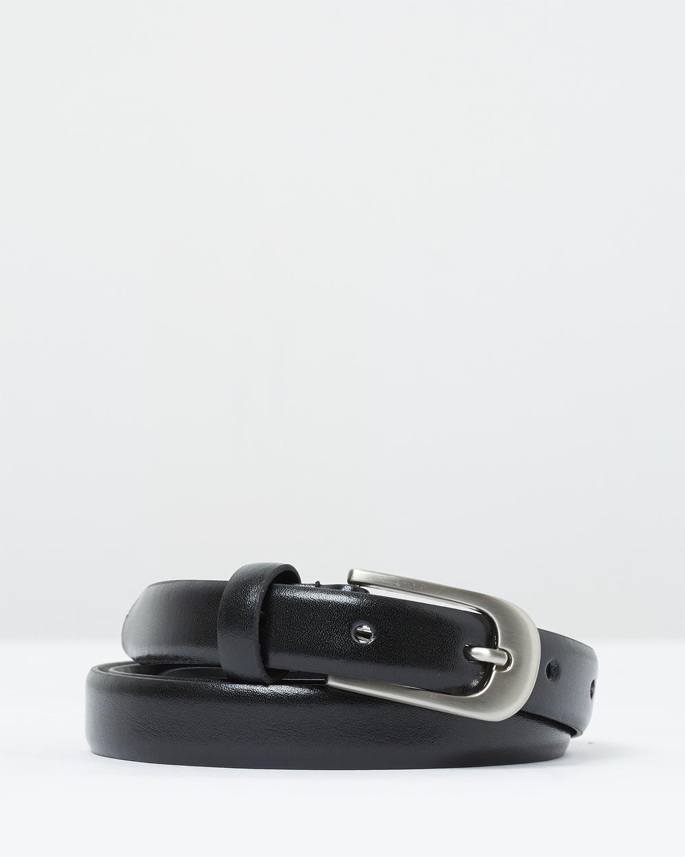 Loop Leather Co Work It Belts Black
