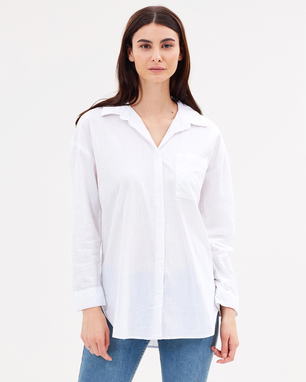 Cotton On Monique Shirt Tops White Monique Shirt