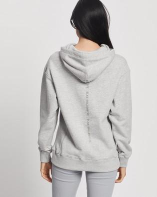 Elka Collective - Trademark Hoodie Hoodies (Light Grey Marle)