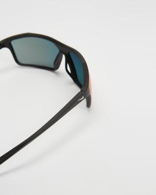 Nike Windstorm - Sunglasses (Matte Black, Pure Platinum & Field Tint)