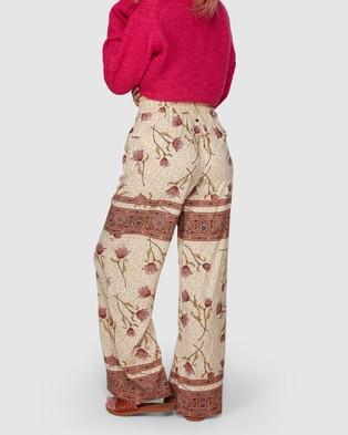 Billabong Drift Away Pants - Pants (WHITE SMOKE)