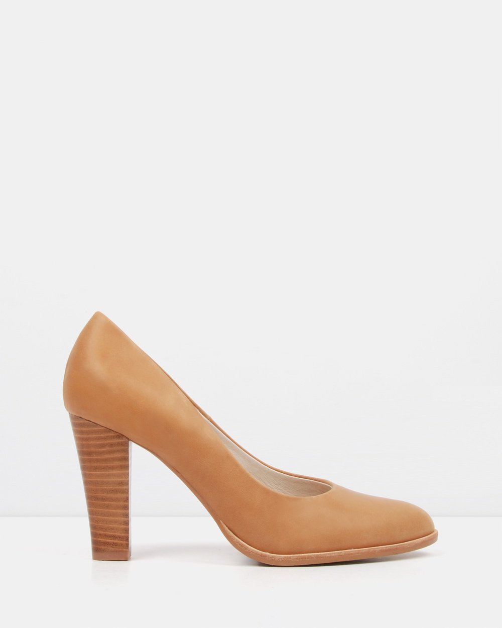 Jo Mercer Uptown Heeled Pumps All Pumps Chocolate Uptown Heeled Pumps