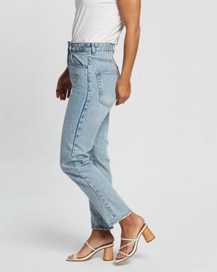 Cotton On Mom Jeans - Mom Jeans (Avalon Blue)