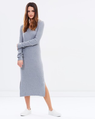 Assembly Label – Fall Dress – Bodycon Dresses Grey Marle
