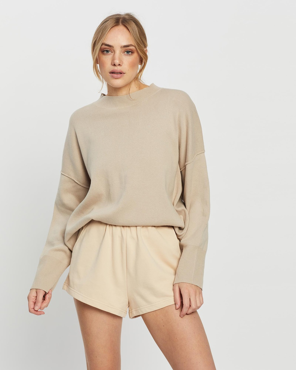 All Fenix Lara Lounge Sweater Hoodies Stone