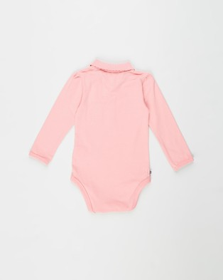 Tommy Hilfiger Polo Bodysuit Gift Box   Babies - Gifts sets (Rosey Pink)