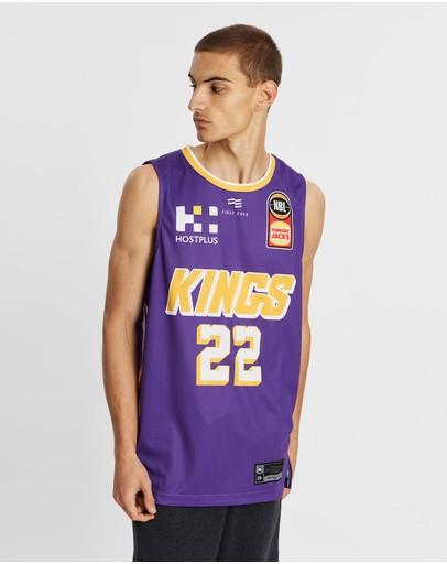 First Ever - Nbl Sydney Kings 19/20 Authentic Home Jersey Casper Ware Jr. Purple