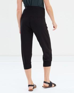 Bamboo Body Summer Slouch Pants - Pants (Black)