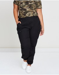 Atmos&Here Curvy - ICONIC EXCLUSIVE - Lucy Utility Pants