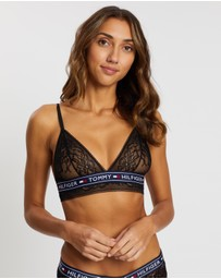 Tommy Hilfiger - Authentic Lace Triangle Bra