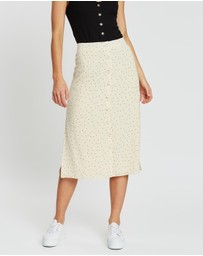 Atmos&Here - Lily Maxi Button-Through Skirt