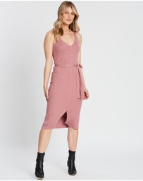 Atmos&Here - Julianna Button Knit Dress