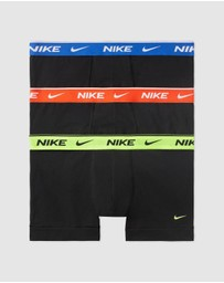 Nike - Everyday Stretch Cotton Trunks - 3-Pack
