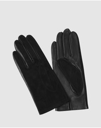Kate & Confusion - Aspen Suede and Leather Gloves
