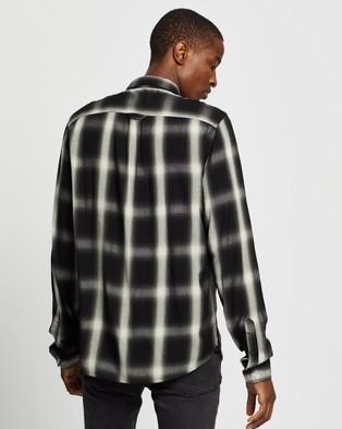 Neuw Waits LS Shirt - Casual shirts (Black Check)
