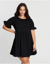 Atmos&Here Curvy - ICONIC EXCLUSIVE - Eimear Smock Dress