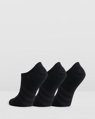adidas Performance Light No Show Socks   3 Pack - Underwear & Socks (Black)