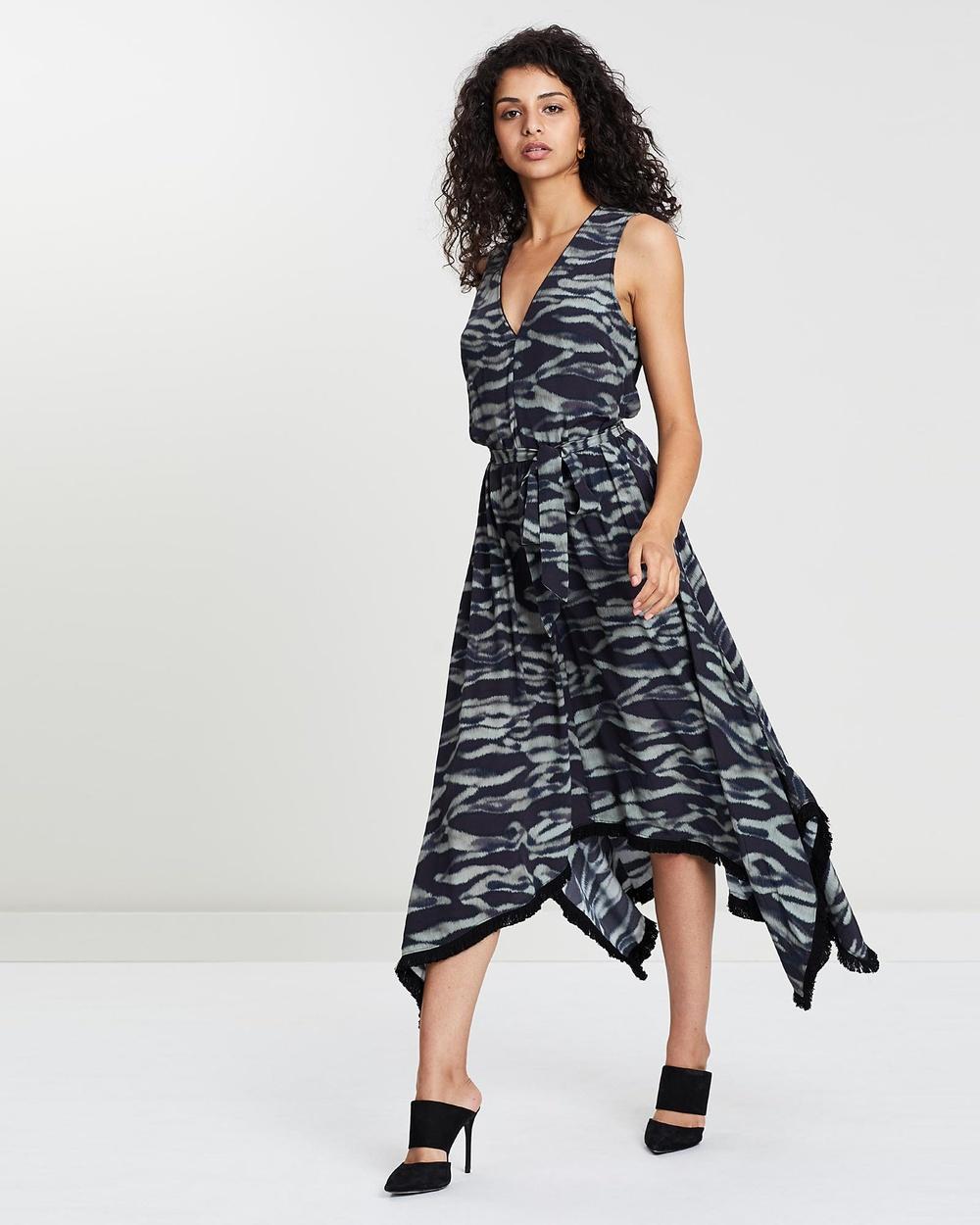 Husk Multi Chat-Noir Dress