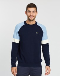 Lacoste - Colour-Block Raglan Knit
