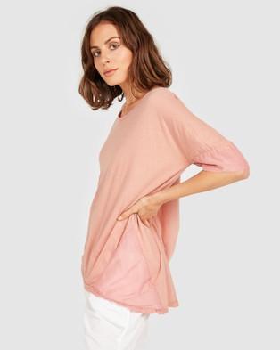 Primness Mink Tee - Short Sleeve T-Shirts (Pink)