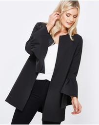 Tussah - Melrose Frill Cuff Coat