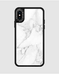 Casetify - Material Marble Case for iPhone XS/ iPhone X - Minimalist