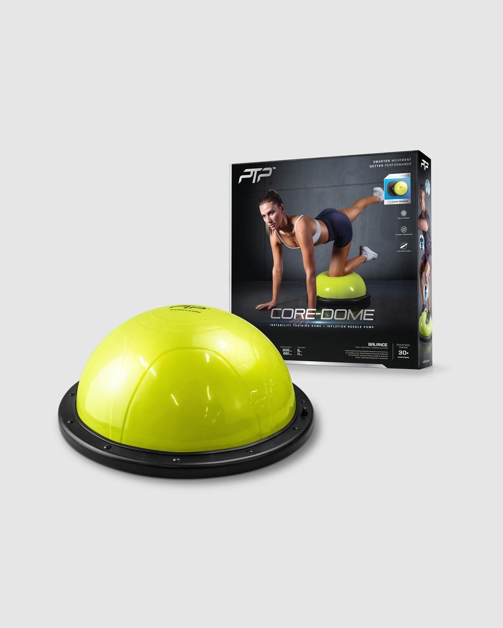 PTP Core Dome Gym & Yoga Lime Core-Dome