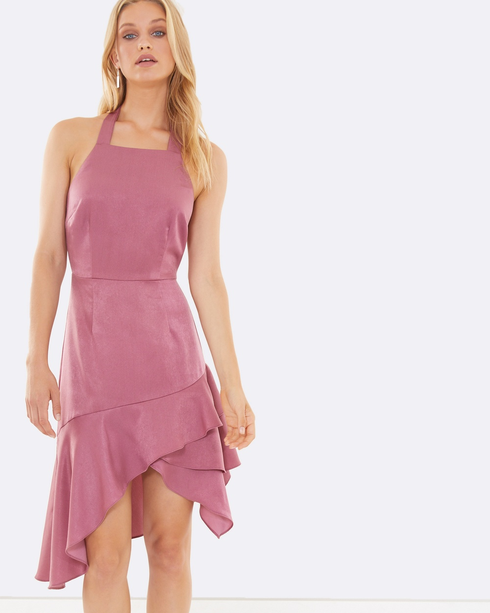 Calli Selena Frill Dress Dresses Pink Selena Frill Dress