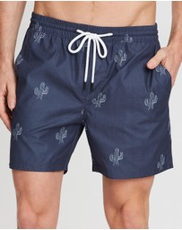Staple Superior - Cactus Swim Shorts