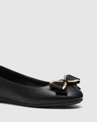 Novo Caramel - Ballet Flats (Black)