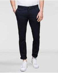Wayver - Slim Soft Wash Chinos