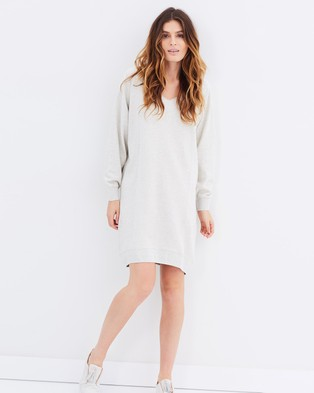 Maison Scotch – Home Alone Oversized Sweat Dress – Dresses (Colour 8B)