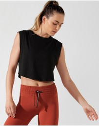 Lorna Jane - Move Easy Cropped Tank