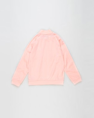 adidas Originals - SST Track Top   Kids Teens - Coats & Jackets (Haze Coral & White) SST Track Top - Kids-Teens